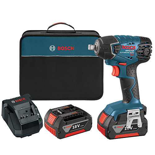 1/2 Inch 18 V Impact Wrench