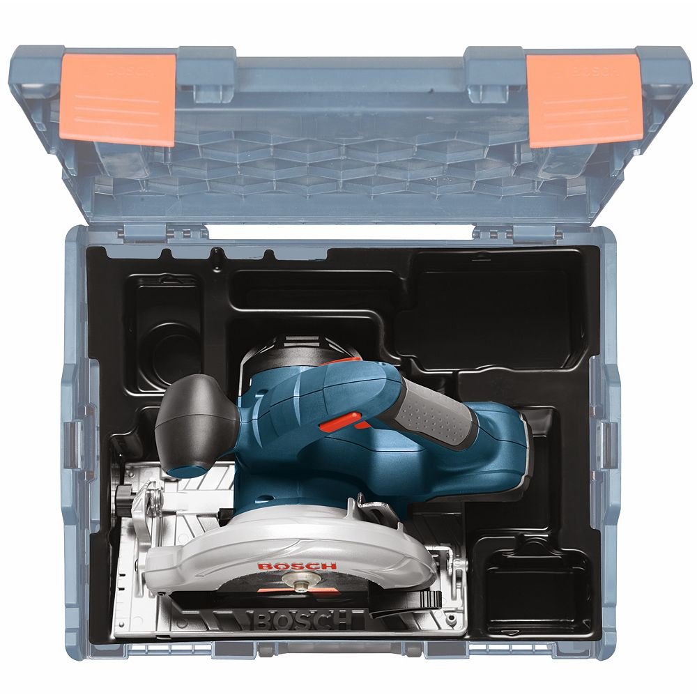 Bosch 18 V 6-1/2 Inch Circular Saw with L-BOXX Carrying Case