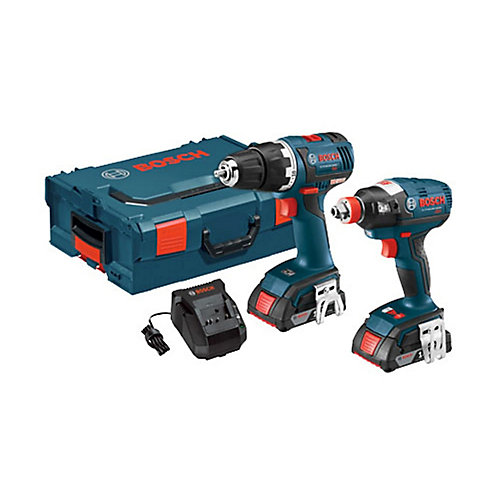 18 V 2-Tool EC Brushless Combo Kit