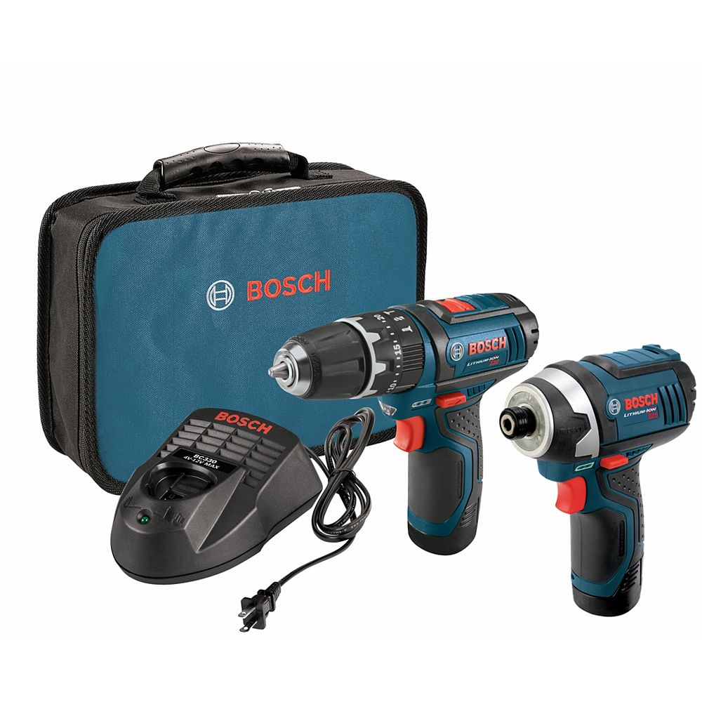 Bosch 12 V Max 2-Tool Lithium-Ion Cordless Combo Kit