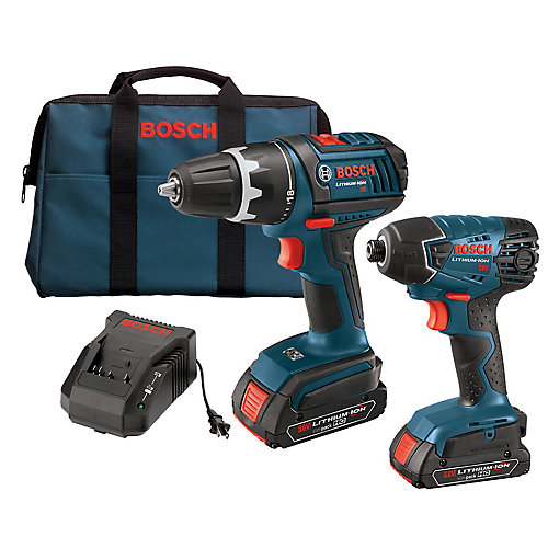 18 V 2-Tool EC Brushless Cordless Combo Kit