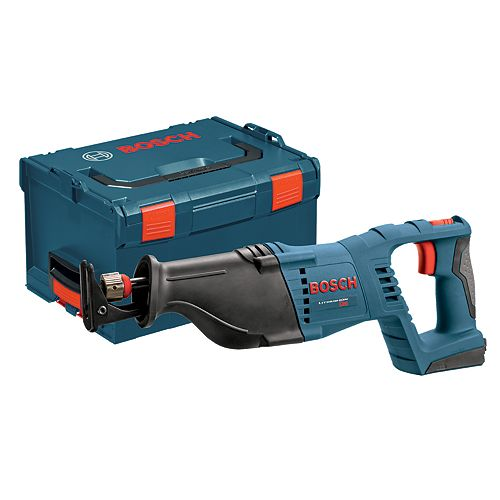 18V Lithium Ion Cordless Reciprocating Saw Battery-Tool and Case Only