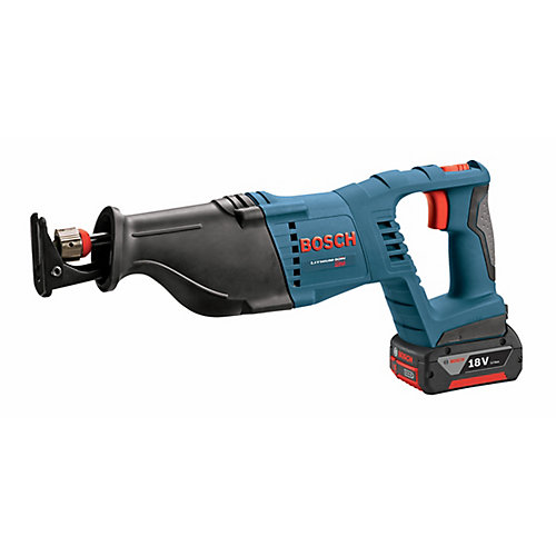 18V Lithium Ion Cordless Reciprocating Saw Battery and Charger Included