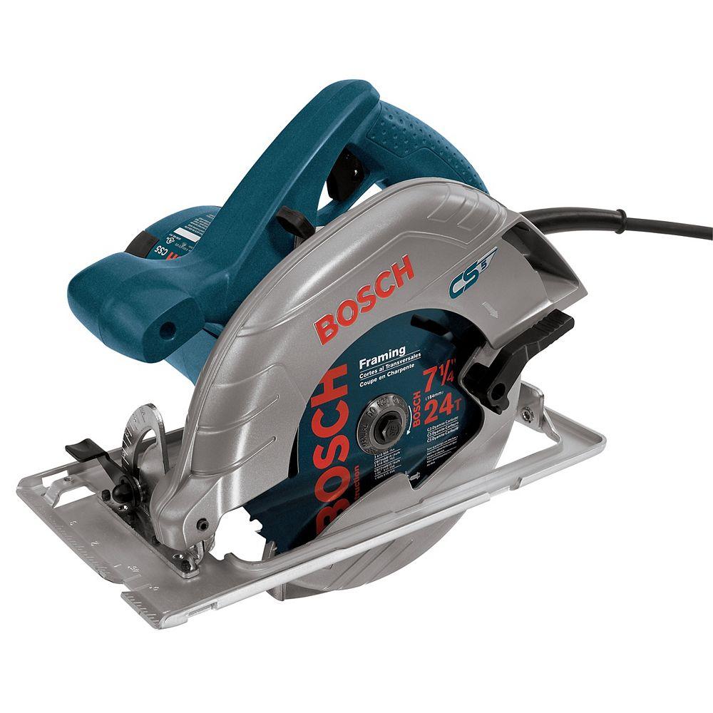Bosch 7-1/4 Inch 15 A Left Blade Circular Saw
