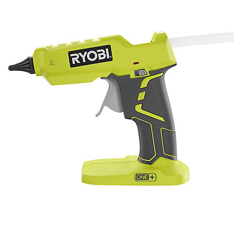 18V ONE+ Cordless Full Size Glue Gun (Bare-Tool) with (3) General Purpose Glue Sticks