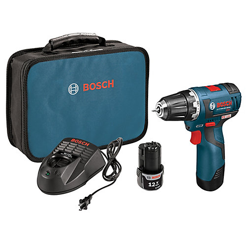 12V Lithium Ion Cordless Max EC Brushless 3/8-inch Drill/Driver with 2 Batteries