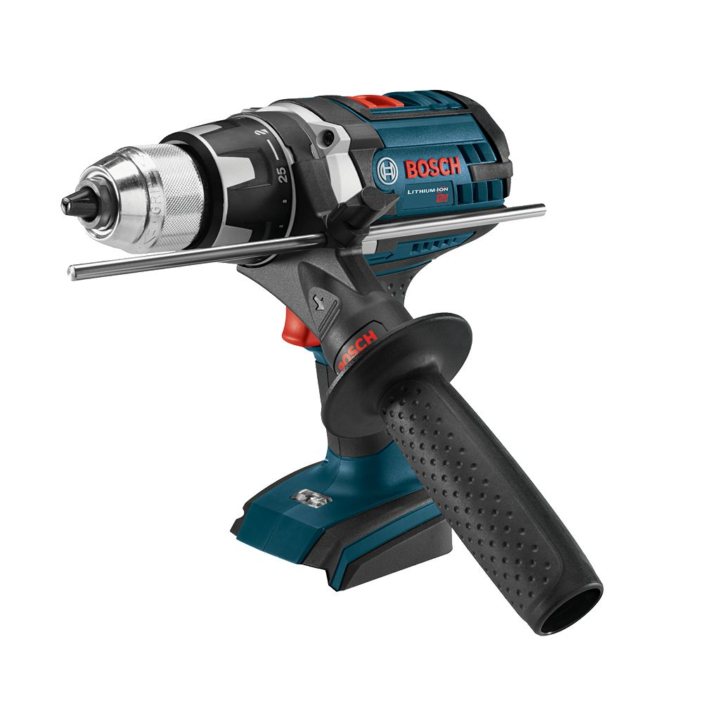 Bosch 18V Lithium Ion Cordless Brute Tough Drill Driver with Heavy duty construction & LED Light