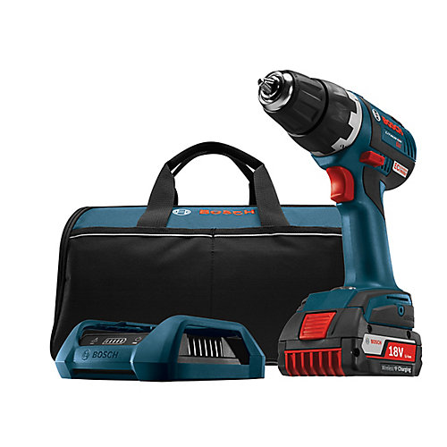 18V EC Brushless Keyless 1/2-inch Chuck Cordless Drill/Driver with Wireless Charging Kit