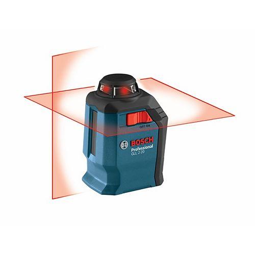 Bosch Laser en croix et à ligne de 360°