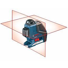Niveau laser de nivellement et d'alignement à deux plans