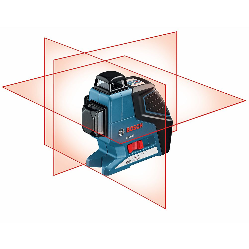 Bosch 360 Three-Plane Levelling and Alignment-Line Laser