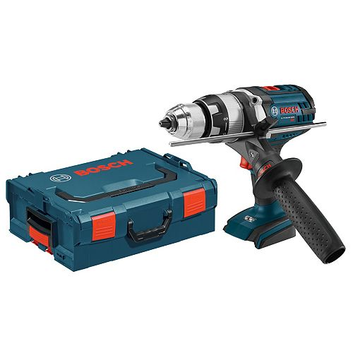 18V Lithium Ion Brute Tough Hammer Drill Driver with Active Response Technology & LED Light