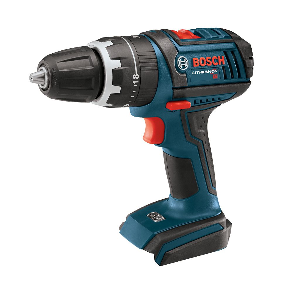 Bosch 18V Lithium Ion Cordless Compact Tough Hammer Drill/Driver (Tool Only)
