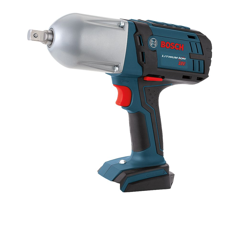 Bosch 18 V High Torque Impact Wrench with Pin Detent - Bare Tool