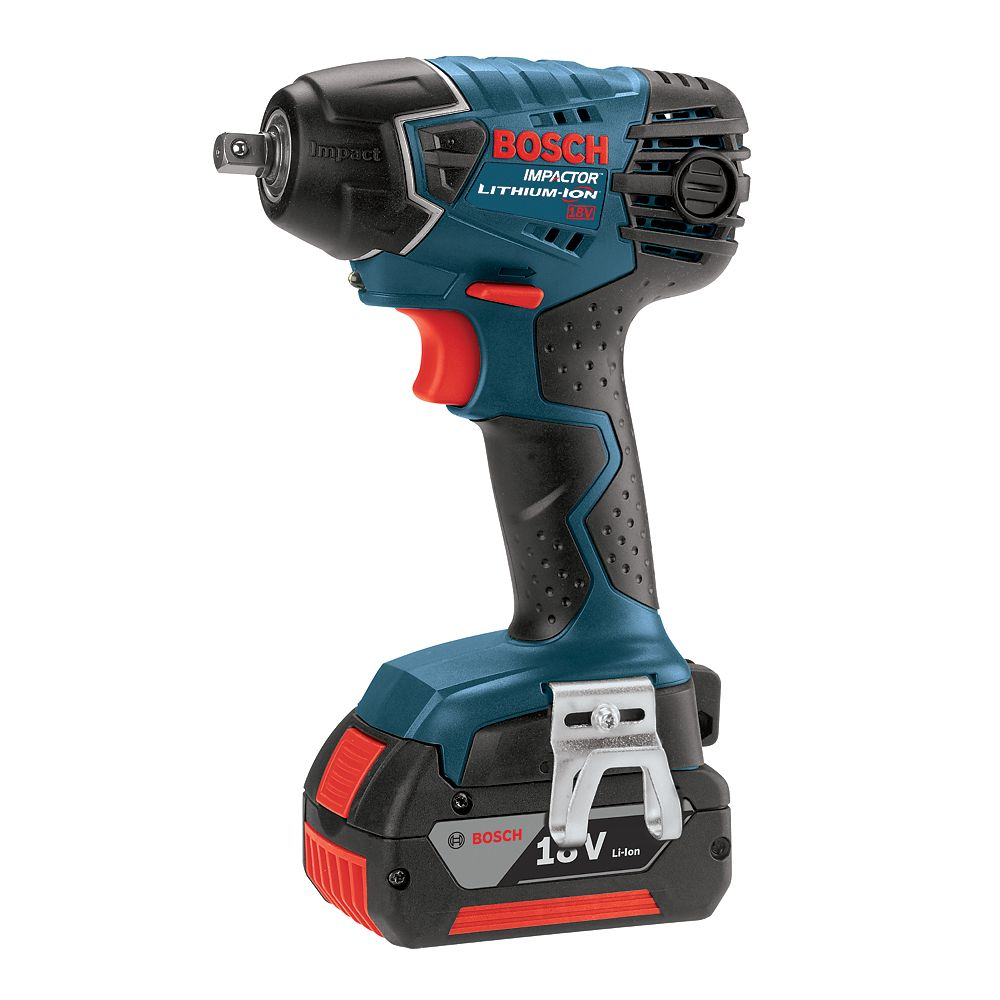 Bosch 18V Lithium Ion Cordless 3/8 inch. Square Drive Anvil & Impact Wrench