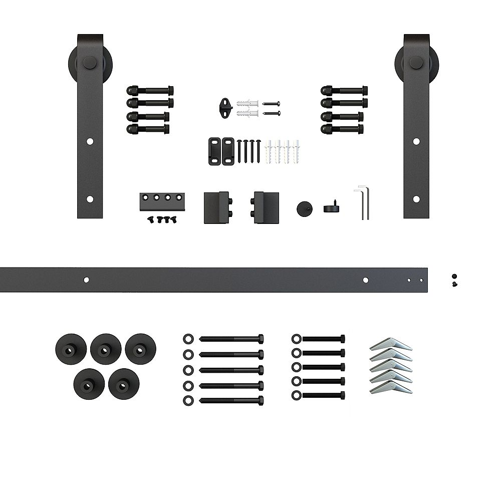 Everbilt Sliding Door Track And Hardware Kit