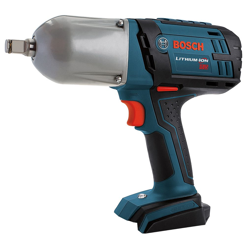 Bosch 18 V High Torque Impact Wrench with Friction Ring - Bare Tool