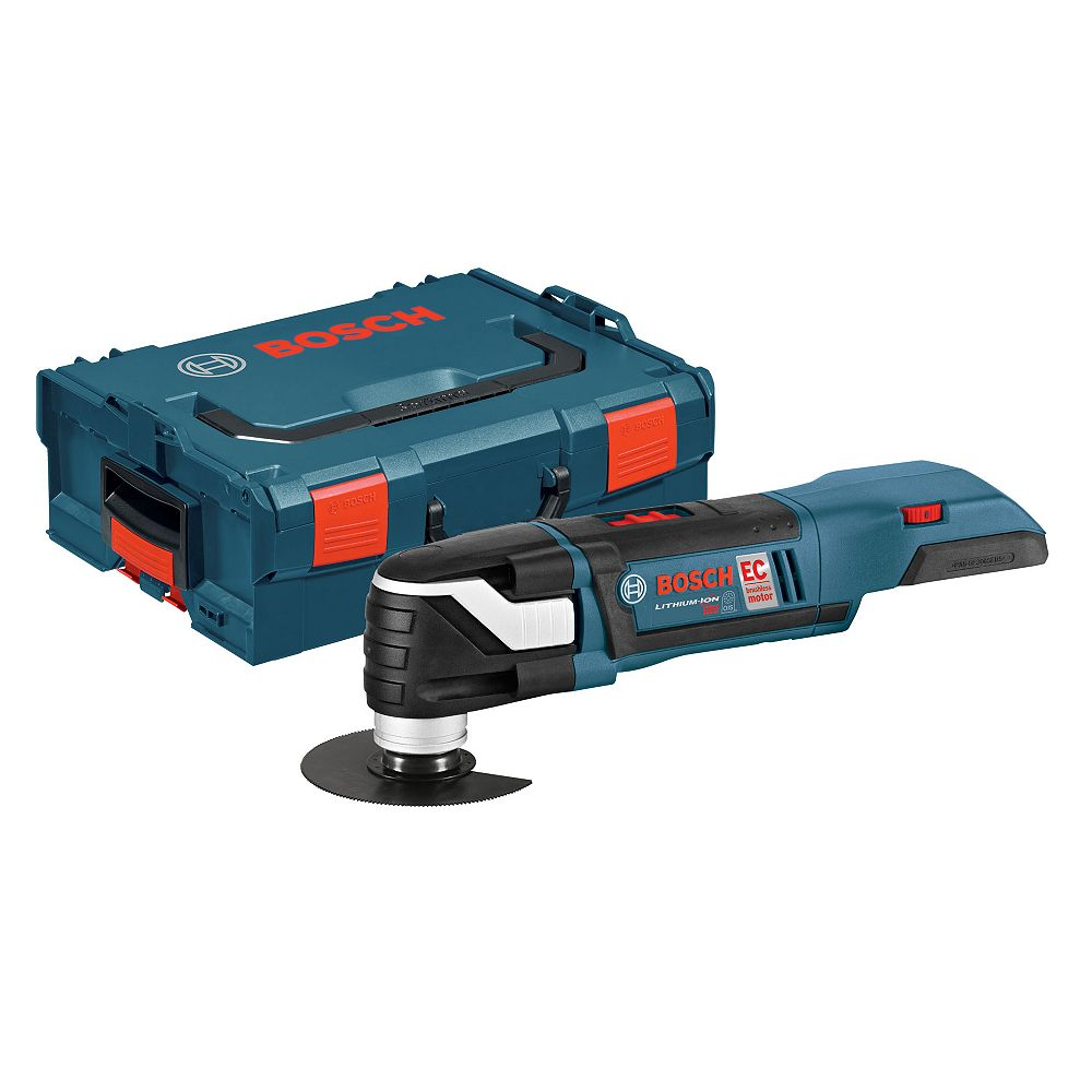 Bosch Brushless 18 V Cordless Multi-X Oscillating Tool with L-BOXX-2 and Exact-Fit Insert Tray