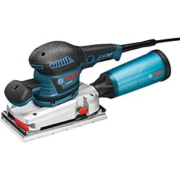 120V Corded Electric Orbital Sander Kit with Vibration Control and Sheet Sander Attachment System