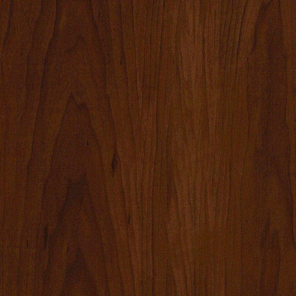 TrafficMASTER Latte pour plancher, vinyle de luxe, 6 po x 36 po, Noyer américain, 24 pi2/boîte
