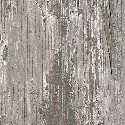 Ardoise de bois mélangé verrouillable de 8,7 po x 60 po Plancher de vinyle de luxe (21,6 pi2 / caisse)