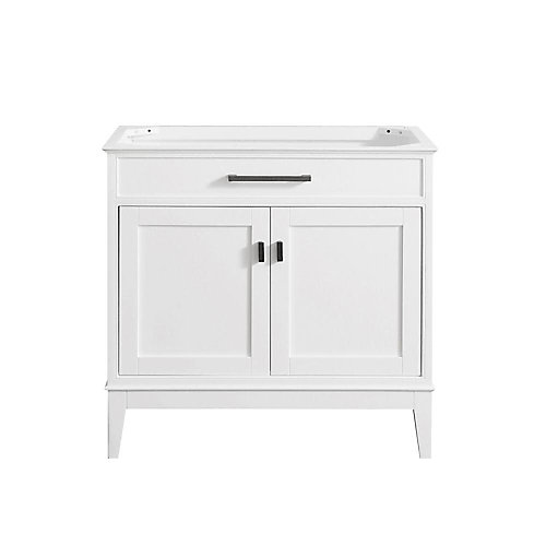 Madison 36-Inch  Vanity Cabinet in White