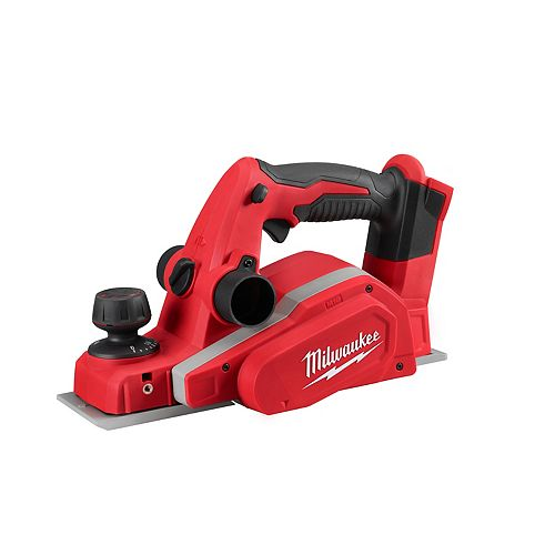 Milwaukee Tool M18 18V Lithium-Ion Cordless 3-1/4-inch Planer (Tool Only)