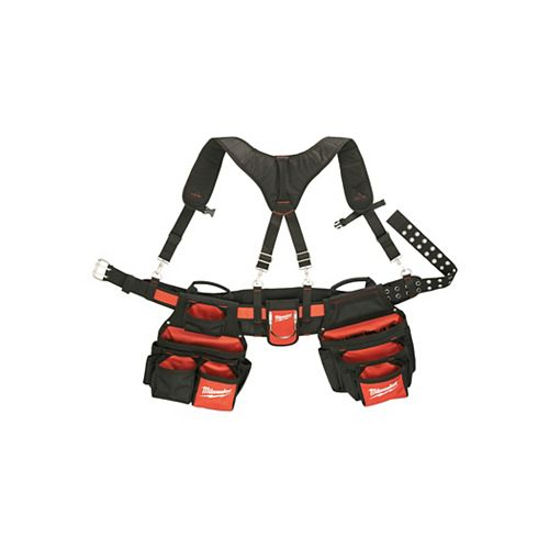 Contractor Work Belt with Suspension Rig