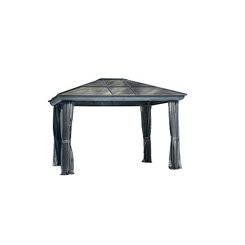 Venus Gazebo 10 Ft. x 12 Ft. in Slate