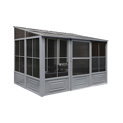 8 ft. x12 ft. Add-a-Room in Grey