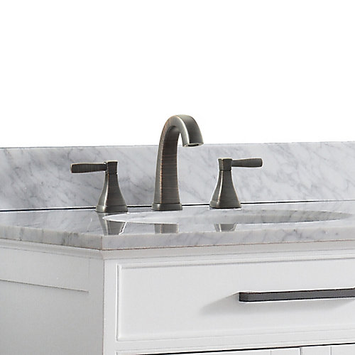 Clarice 8-inch Widespread 2-Handle Bathroom Faucet in Oil Rubbed Bronze Finish