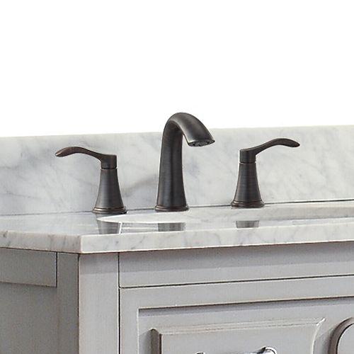 Mizuchi 8-inch Widespread 2-Handle Bathroom Faucet in Oil Rubbed Bronze Finish