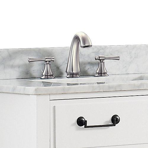 Triton 8-inch Widespread 2-Handle Bathroom Faucet in Brushed Nickel Finish