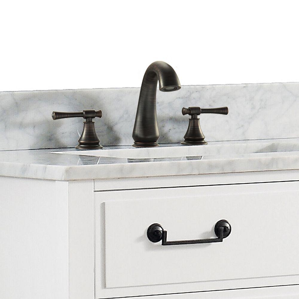 Avanity Triton 8-inch Widespread 2-Handle Bathroom Faucet in Oil Rubbed Bronze Finish