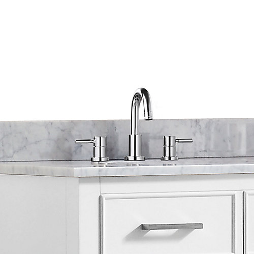 Positano 8-inch Widespread 2-Handle Bathroom Faucet in Chrome Finish