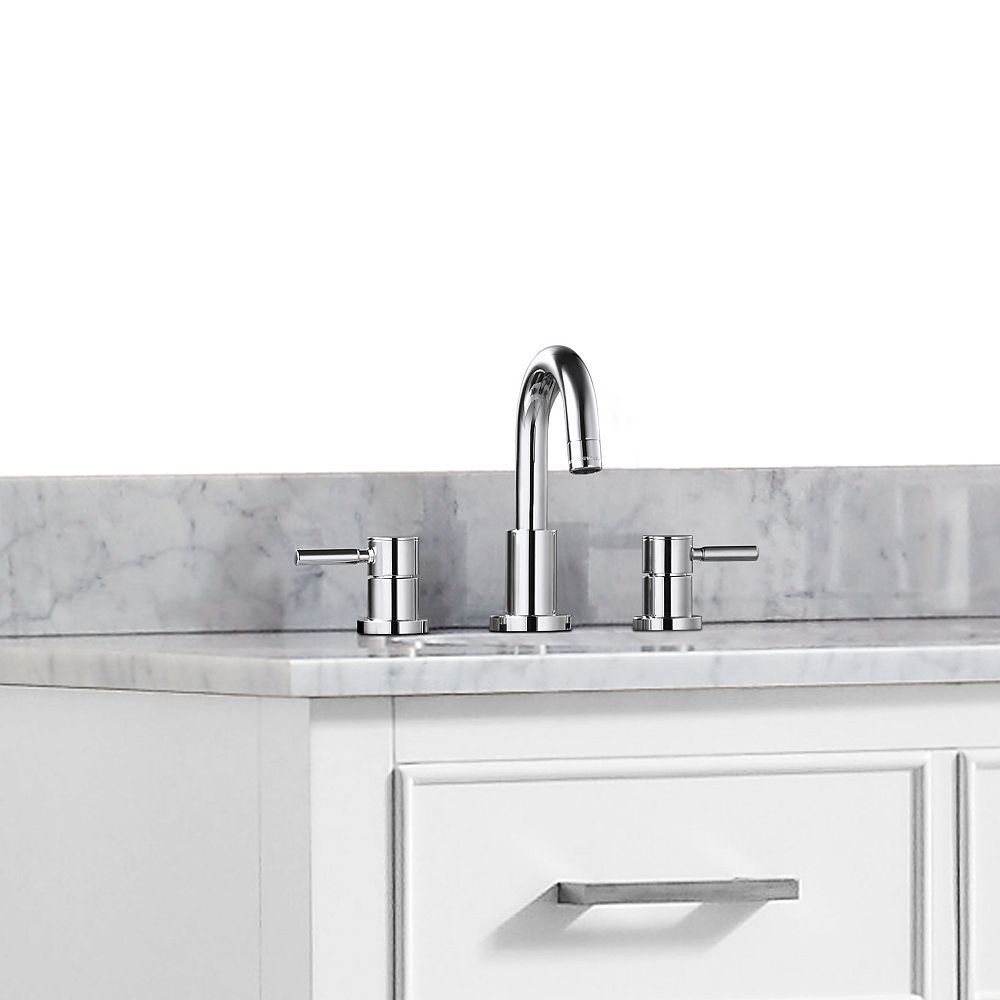 Avanity Positano 8-inch Widespread 2-Handle Bathroom Faucet in Chrome Finish