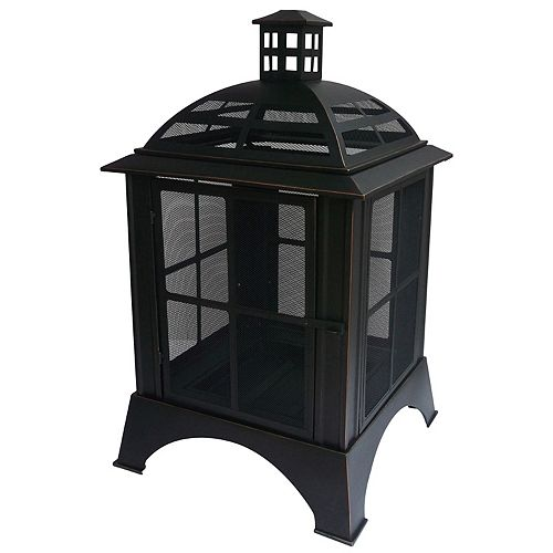 Chesterfield Wood-Burning Outdoor Fire House
