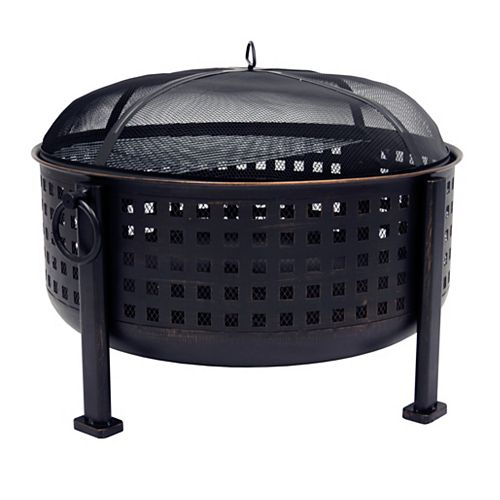 Langston 12-inch Deep Bowl Fire Pit