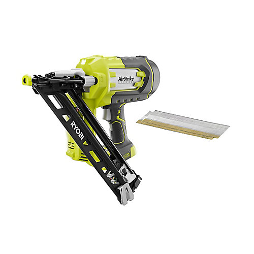 18V ONE+ 15-Gauge AirStrike Cordless Angled Nailer (Tool-Only)