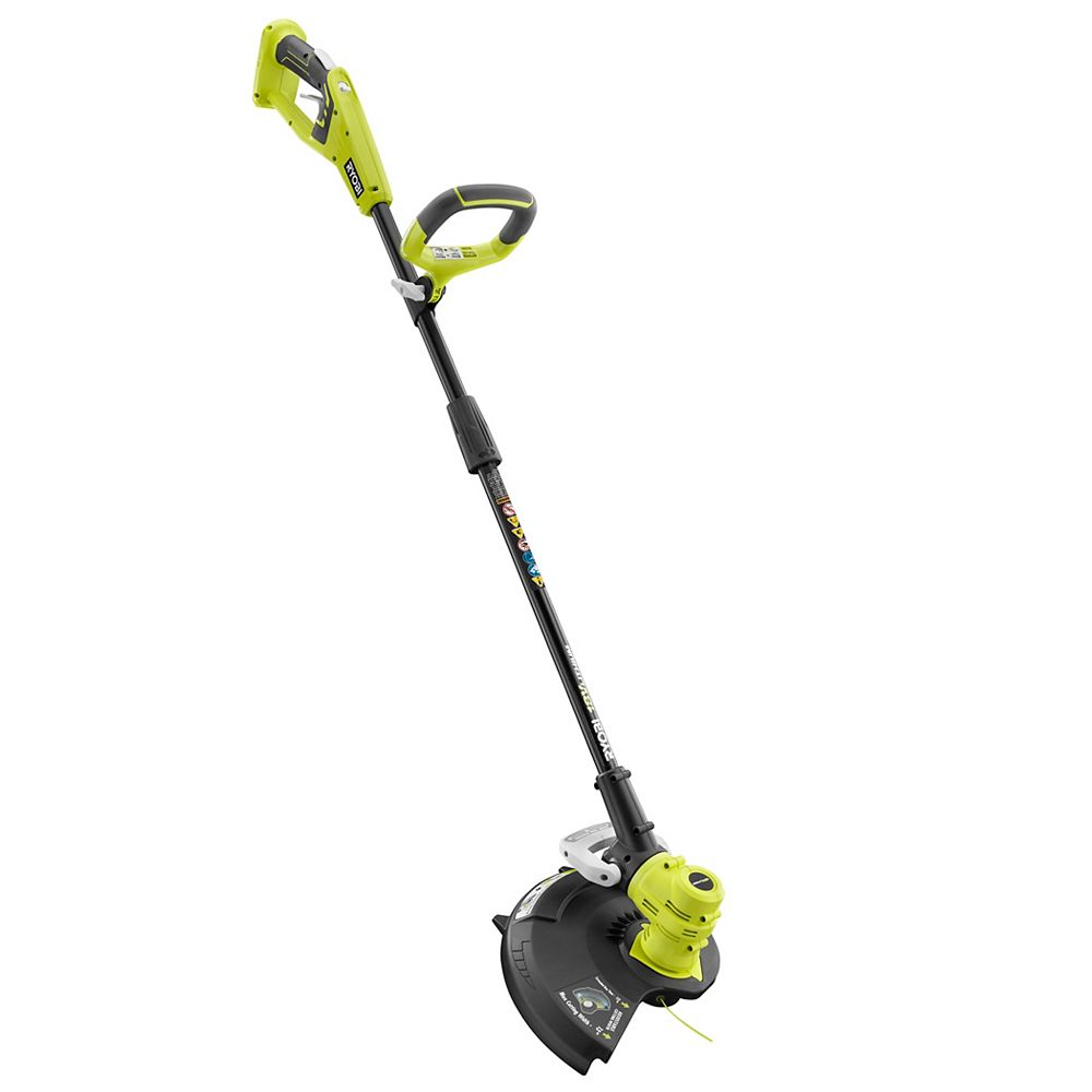 RYOBI 18V ONE+ Lithium-Ion Cordless Electric String Trimmer / Edger (Tool Only)