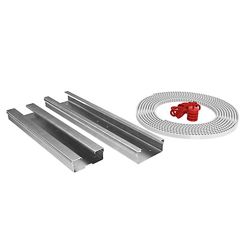 8 ft. Garage Door Rail Belt Drive Extension Kit