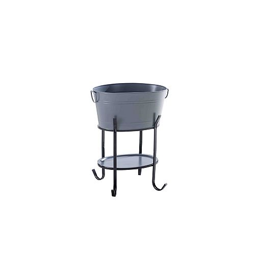 Party Tub Drinks Bin in Graphite