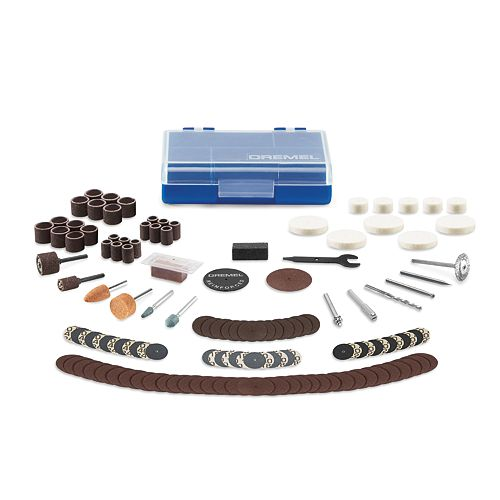 Dremel 130-Piece Maker Accessory Kit