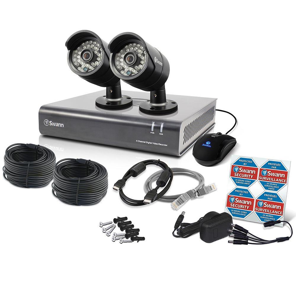 Swann DVR à 4 canaux et 2 caméras PRO-A850