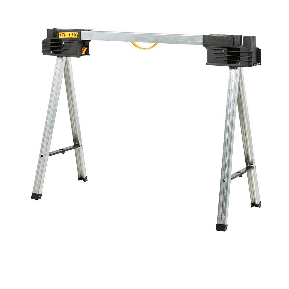DEWALT 32-inch Metal Folding Sawhorse
