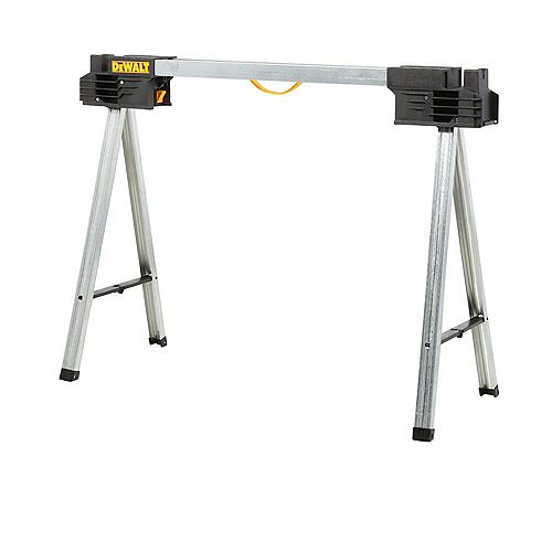 32-inch Metal Folding Sawhorse
