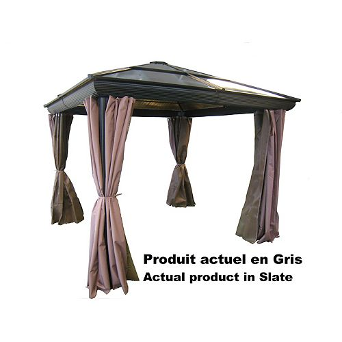 10 ft. x10 ft. Gazebo in Grey