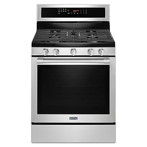 5.8 cu.ft.Gas Range with Self-Cleaning Convection Oven in Fingerprint Resistant Stainless Steel