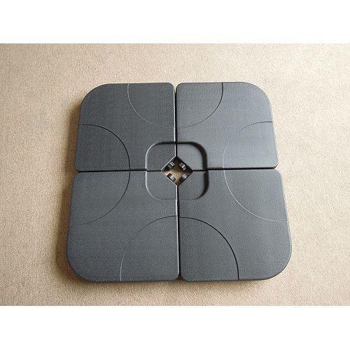 Paquet de 4 blocs de base équilibrés pour parasol