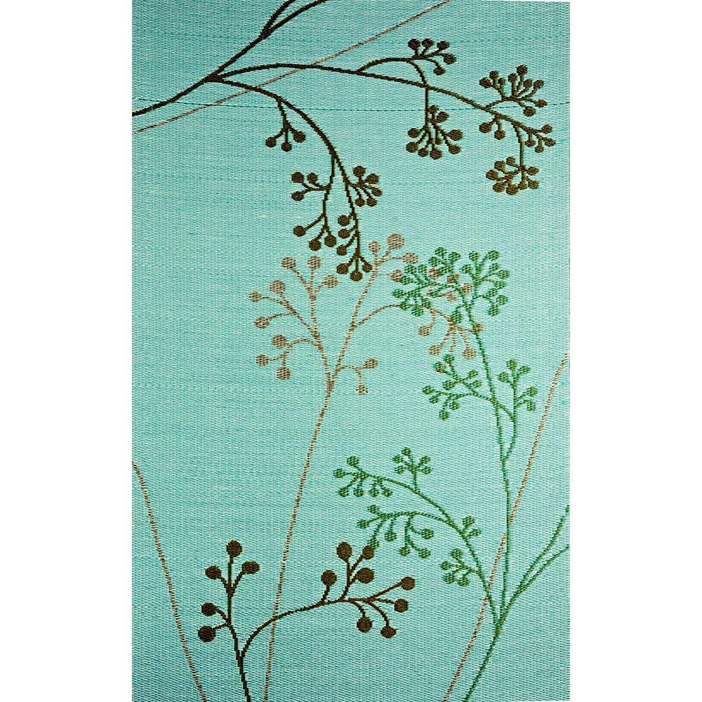 b.b.begonia Carpette d'intérieur/extérieur, 8 pi x 20 pi, style contemporain, rectangulaire, multicolore Fernando